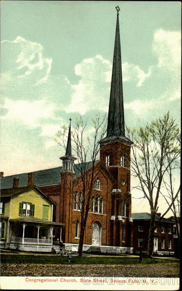 Congregational Church, State Street Seneca Falls New York