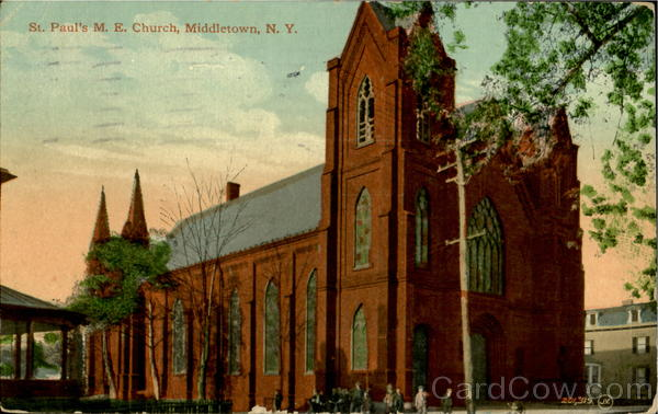 St. Paul'S M. E. Church Middletown New York