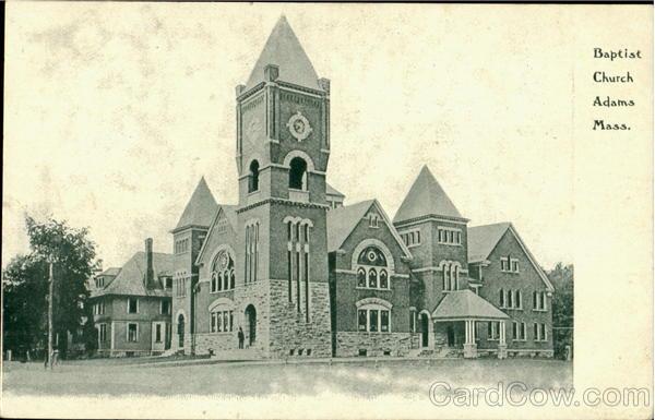 Baptist Church Adams Massachusetts
