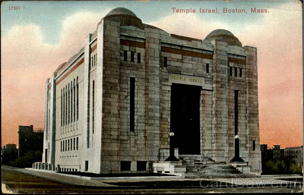 Temple Israel Boston Massachusetts