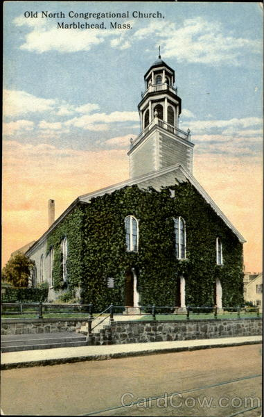 Old North Congregational Church Marblehead Massachusetts