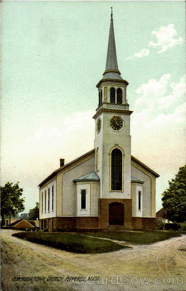 Congregational Church Pepperell Massachusetts