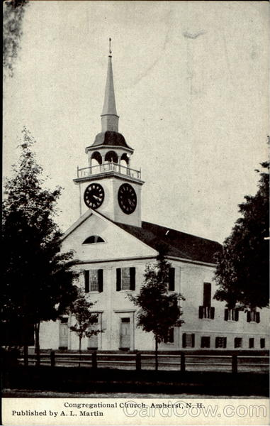 Congregational Church Amherst New Hampshire