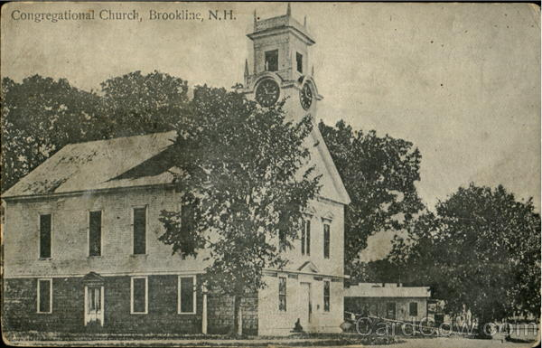 Congregational Church Brookline New Hampshire
