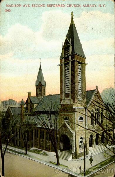 Madison Ave. Second Reformed Church Albany New York