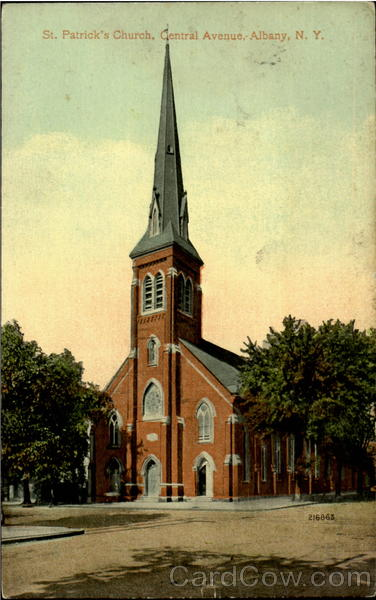St. Patrick's Church, Central Avenue Albany New York