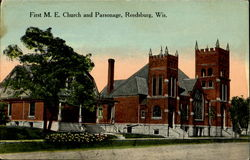 First M. E. Church And Parsonage