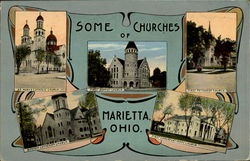 Some Churches Of Marietta