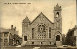 First M.E. Church Postcard