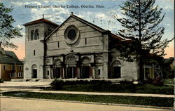 Finney Chapel,Oberlin College Postcard