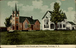 Reformed Dutch Church And Parsonage