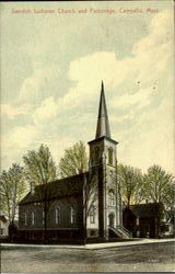 Swedish Lutheran Church And Parsonage
