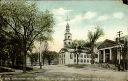 First Parish Church And Lyceum Hall. Meeting House Hill