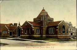 Pullman Memorial Church Postcard