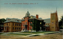 St. Joseph's Catholic Buildings Postcard