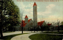 Porter Ave. Circle And 1st Presbyterian Church