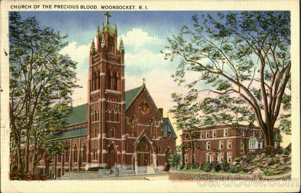 Precious Blood Church Woonsocket Rhode Island
