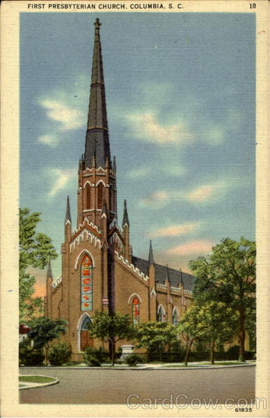 First Presbyterian Church Columbia South Carolina