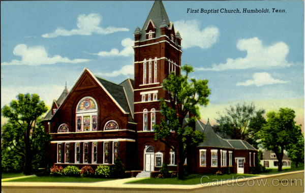 First Baptist Church Humboldt Tennessee