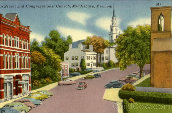 Congregational Church Middlebury Vermont