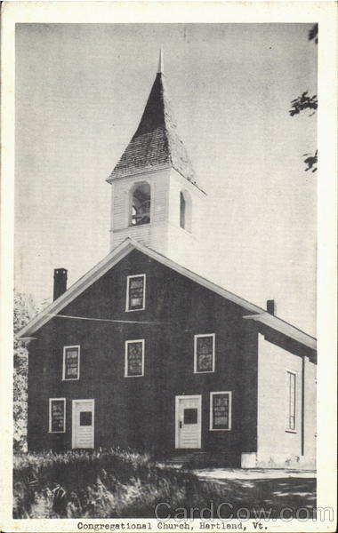 Congregational Church Hartland Vermont