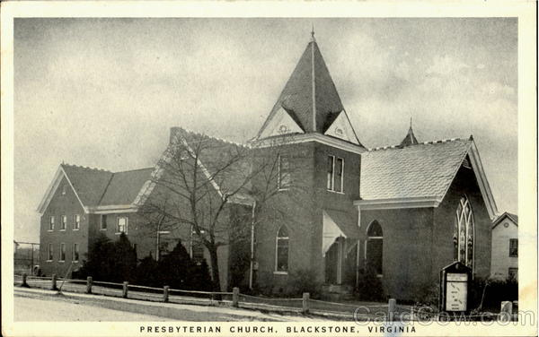 Presbyterian Church Blackstone Virginia