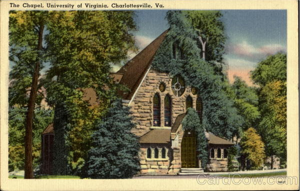 The Chapel, University of Virginia Charlottesville
