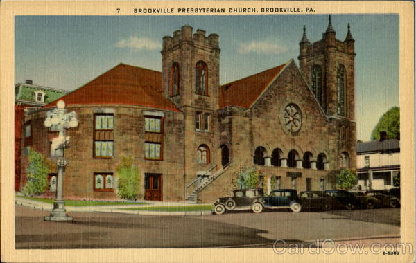 Brookville Presbyterian Church Pennsylvania