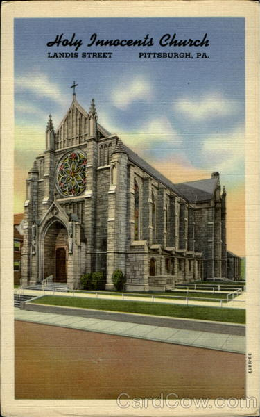 Holy Innocents Church, Landis Street Pittsburgh Pennsylvania
