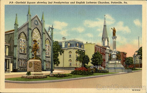 2Nd Presbyterian And English Lutheran Churches, Garfield Square Pottsville Pennsylvania