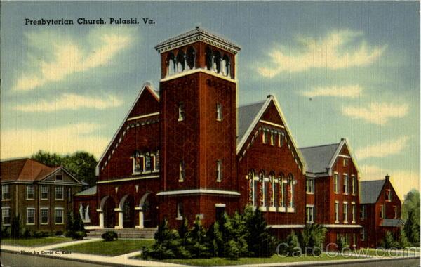 Presbyterian Church Pulaski Virginia