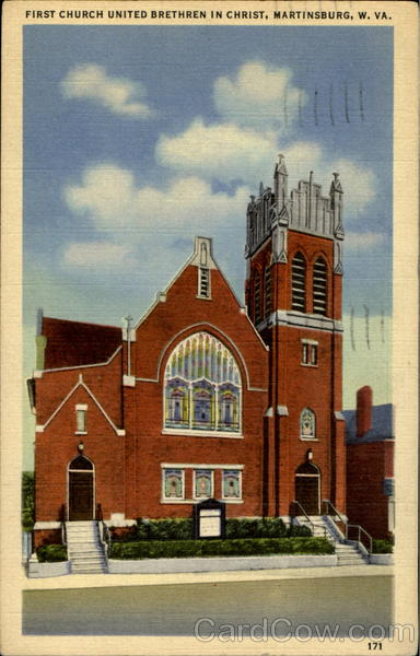 Martinsburg (WV) United States  city pictures gallery : First Church United Brethren In Christ Martinsburg, WV
