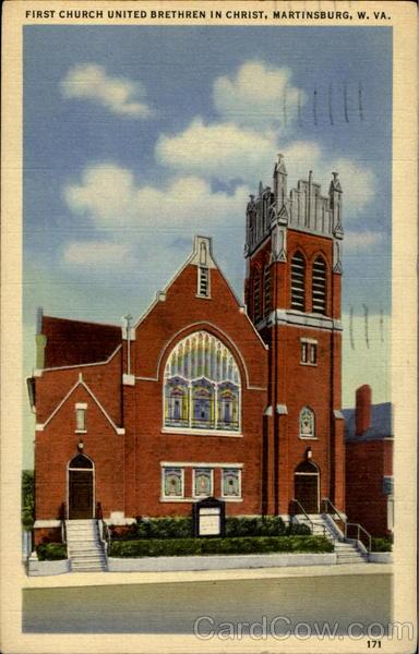 Martinsburg (WV) United States  city photos : First Church United Brethren In Christ Martinsburg, WV