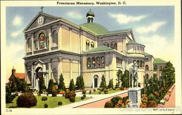 Franciscan Monastery Washington District of Columbia