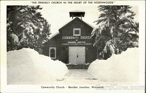 Community Church Boulder Junction Wisconsin