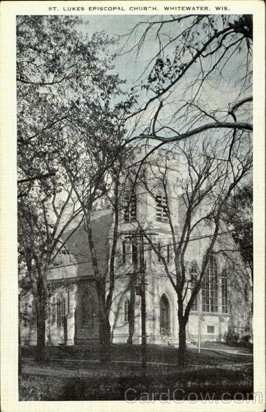 St. Lukes Episcopal Church Whitewater Wisconsin