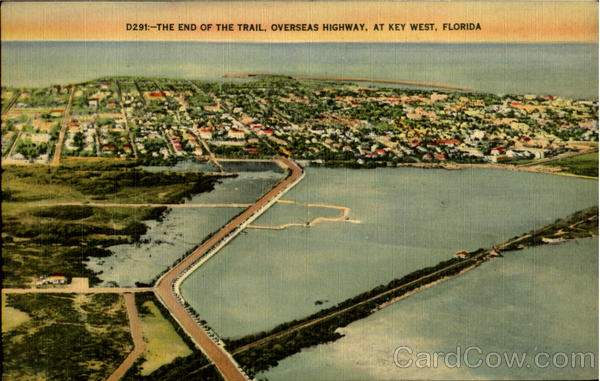 The End Of The Trail Key West Florida