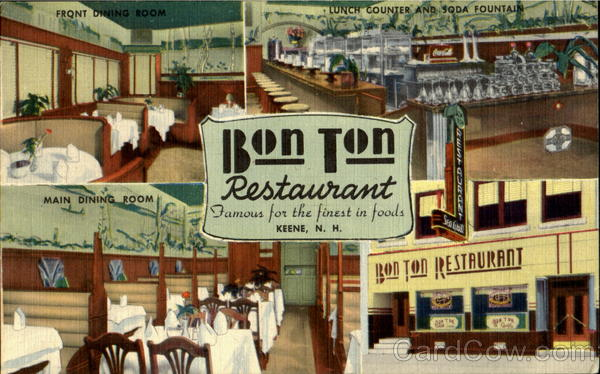 Bon Ton Restaurant, 45 - 47 Main Street Keene New Hampshire