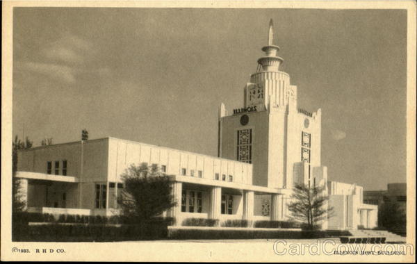 Illinois Host Building 1933 Chicago World Fair