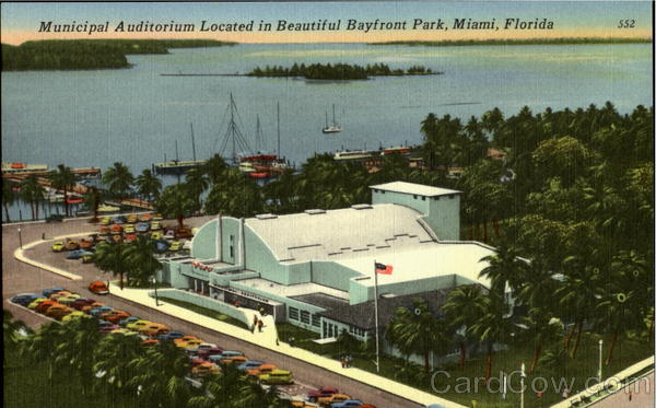 Municipal Auditorium, Bayfront Park Miami Florida