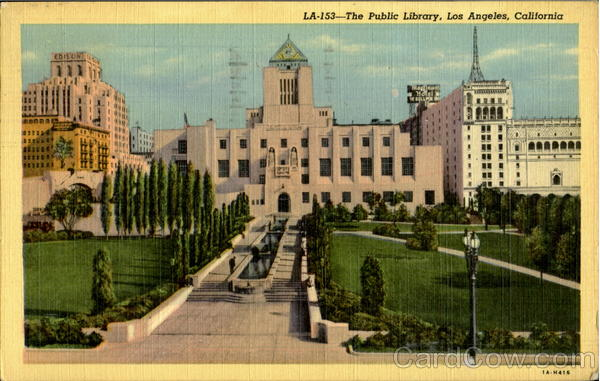 The Public Library Los Angeles California