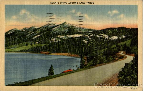 Scenic Drive Around Lake Tahoe Nevada