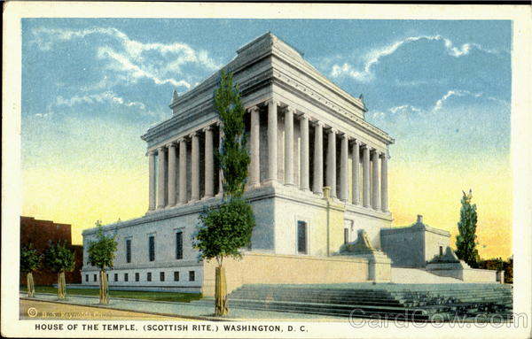 House Of The Temple Washington District of Columbia