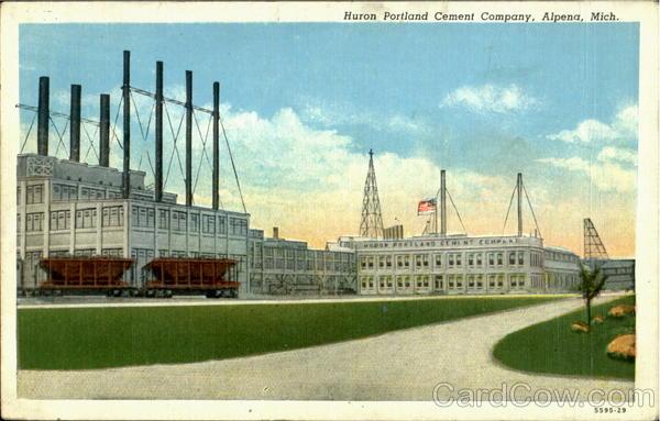Huron Portland Cement : Huron portland cement company alpena mi