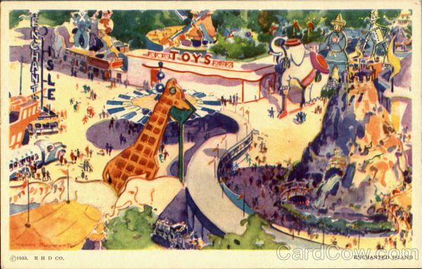 Enchanted Island 1933 Chicago World Fair