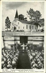 Typical Chapel And Church Service