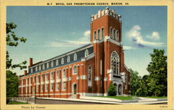 Royal Oak Presbyterian Church Postcard