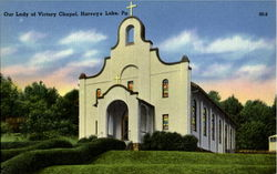 Our Lady Of Victory Chapel Postcard