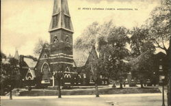 St. Peter's Lutheran Church Postcard