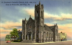 St. Stephen's Catholic Church, State & First Sts